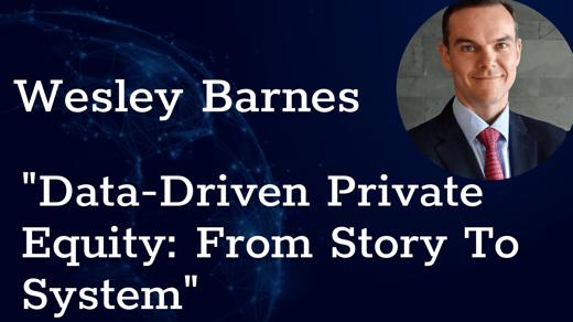 Wesley Barnes intro slide